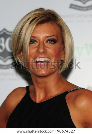 Caroline Feraday arriving for the Global Angels Awards at the Park Plaza Hotel in Westminster London. 02/12/2011 Picture by: Simon Burchell / Featureflash