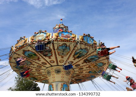 Carousel - stock photo