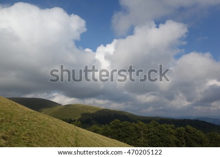 Carpathian Mountains. Transcarpathia