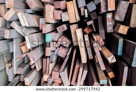 Carpenter carve work and crafts - stock photo