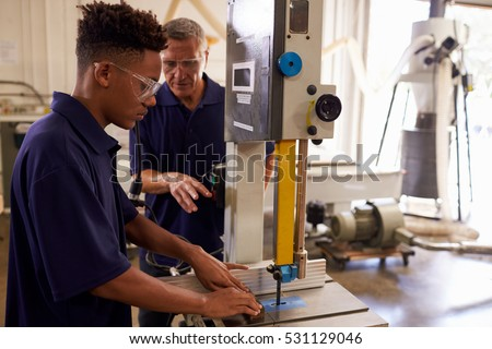 adult apprentice carpenter