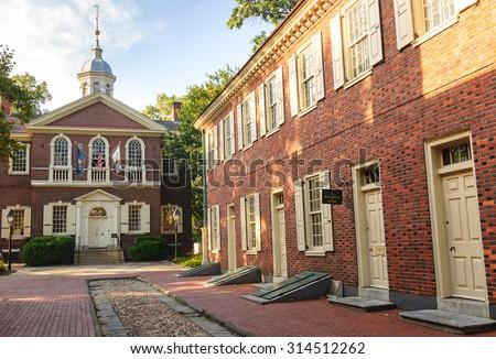 Carpenters Hall - stock photo
