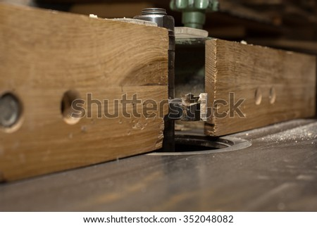 Carpentry and Joinery, wooden workshop