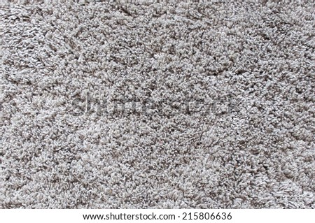 carpet gray long hair - stock photo