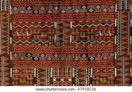 carpet in Morocco - stock photo