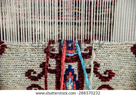 carpet loom. carpet loom m