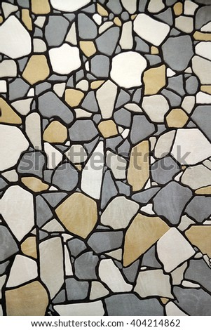 carpet structure pattern in the form of stones , the background texture - stock photo