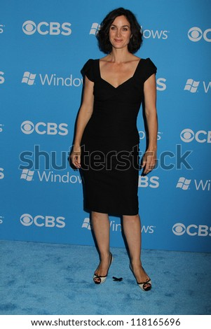 Carrie-Anne Moss at the CBS 2012 Fall Premiere Party, Greystone Manor, West Hollywood, CA 09-18-12