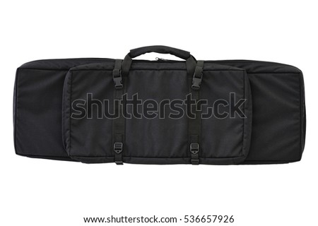 Carrying case for long-barreled weapons, isolated