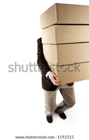 Carrying heavy packages