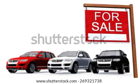 for sale signs for cars
