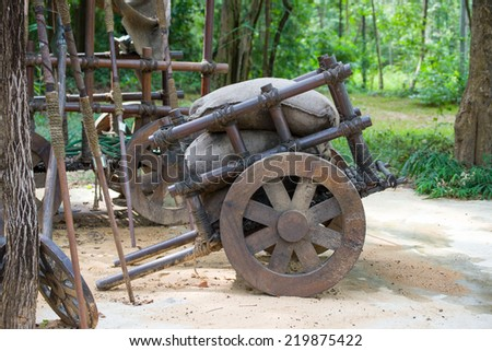 cart, haul, pushcart - stock photo