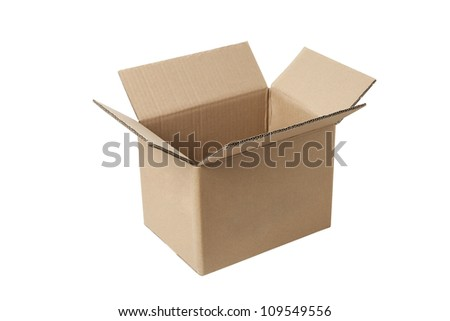 carton box - stock photo