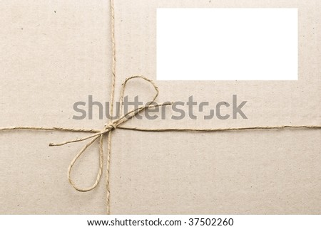 Carton box post package