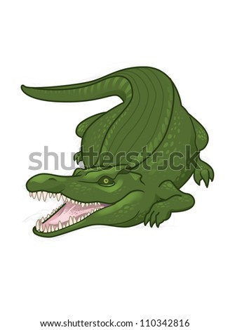Alligator Cartoon Stock Photos, Royalty-Free Images ... - photo#25