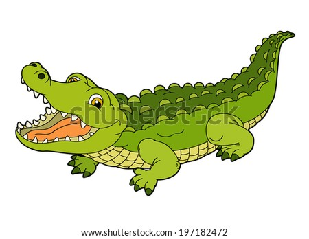 Crocodile Cartoon Stock Images, Royalty-Free Images ... - photo#11