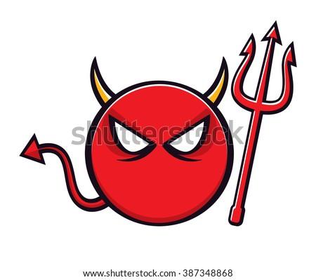 cartoon devil symbol trident stock illustration 387348868 red devil mascot sayings red devil locomotive