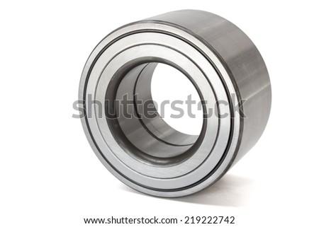 cartridge type bearing on a white background - stock photo
