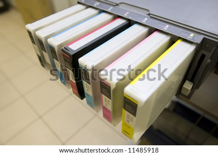 cartridges - stock photo