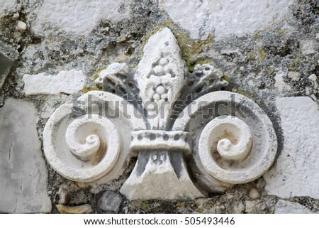 Carved stone ornament