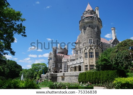 Casa Loma in Toronto - stock photo