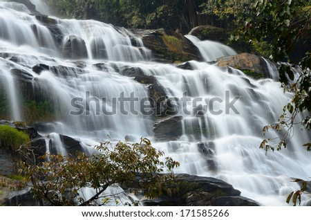 Cascade Waterfalls - stock photo