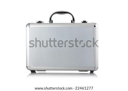 case on white background - stock photo