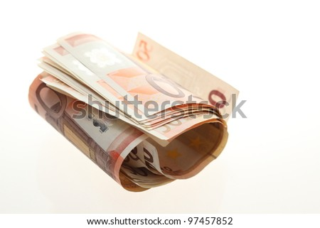 cash - stock photo