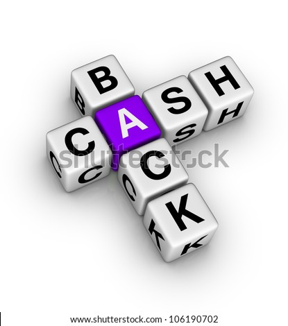 cash back label (cubes crossword series)