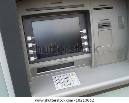 cash dispenser - stock photo