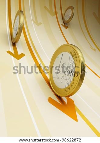 cash flow, business concept, 3d render - stock photo