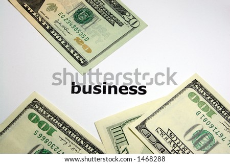 cash for business - stock photo