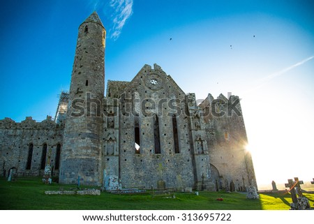 Cashel Castle - stock photo