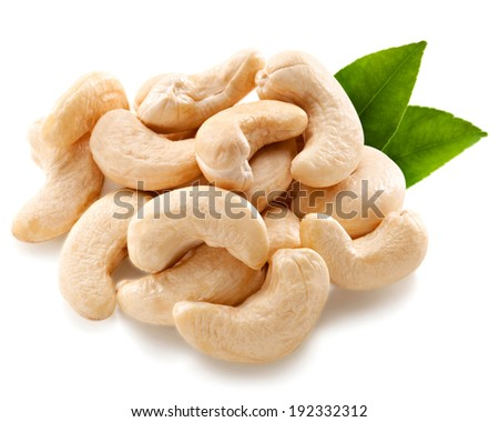 Cashew Clipping Path - stock photo