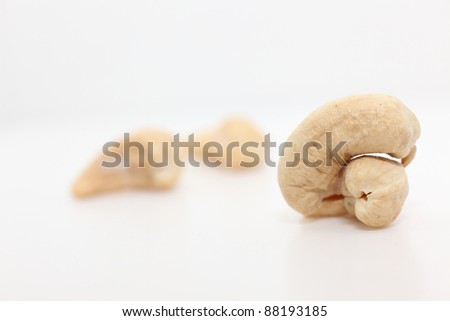 Cashew nuts - stock photo