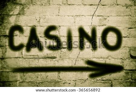 Casino Concept  - stock photo