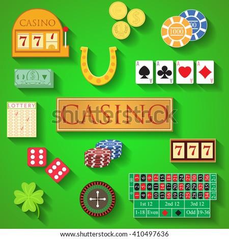 How is modern gambling similar card casino credit deposit