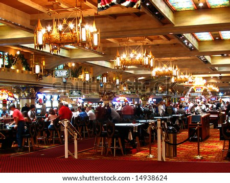Casino in Las Vegas, Nevada, US - stock photo