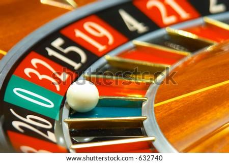 Casino, roulette #1 - stock photo