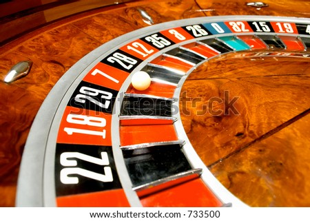 Casino, roulette #8 - stock photo