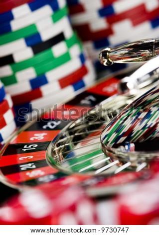 Casino & Roulette - stock photo