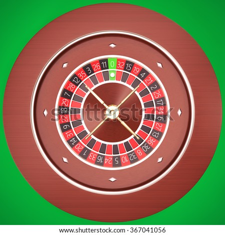 Casino Roulette with a green background.