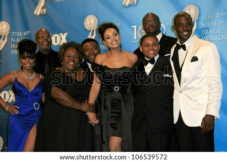 Cast Of U0027House Of Payneu0027 In The Press Room At The 40th NAACP Image