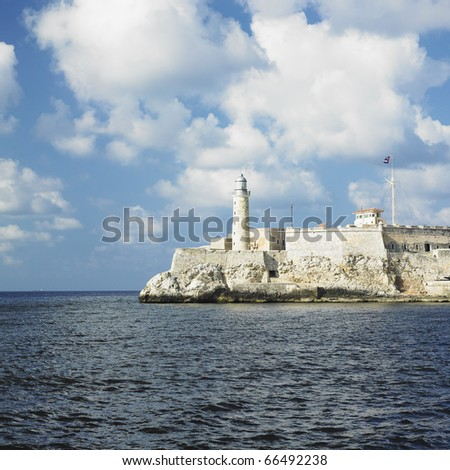Castillo del Morro, Havana, Cuba - stock photo