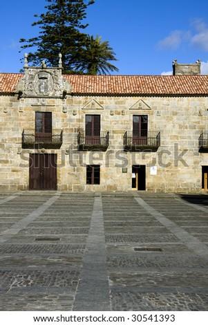 castillo pontevedra spain