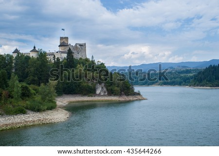 Castle above the lake