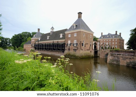 Castle Amerongen in the Netherlands