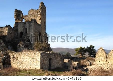 castle Divín - stock photo
