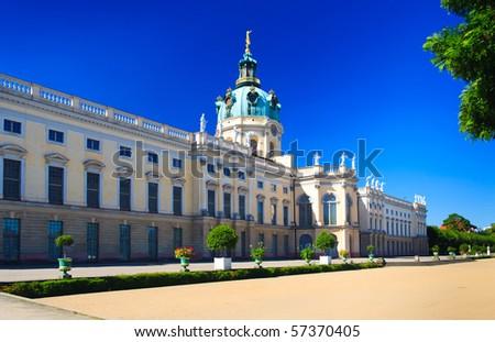 castle in Berlin, Germany - stock photo