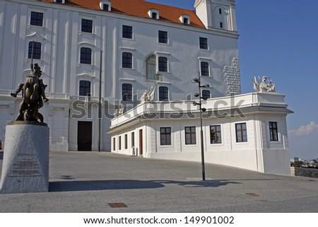 Castle in Bratislava, Slovak Republic - stock photo